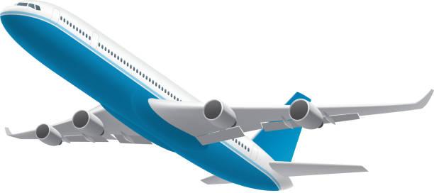 飛行機白で分離 - 飛行機点のイラスト素材/クリップアート素材/マンガ素材/アイコン素材
