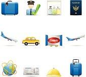 Airplane Travel Icons
