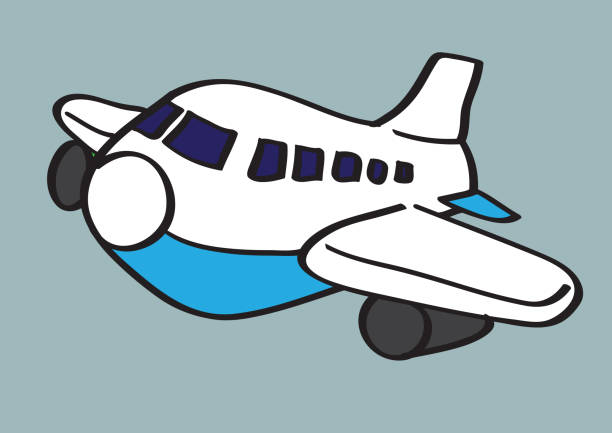 2 825 Cartoon Airplane Clipart Illustrations Royalty Free Vector