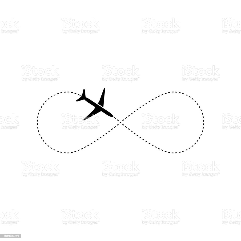 Vetores De Elemento De Desenho De Vetor De Aviao Logo O Conceito