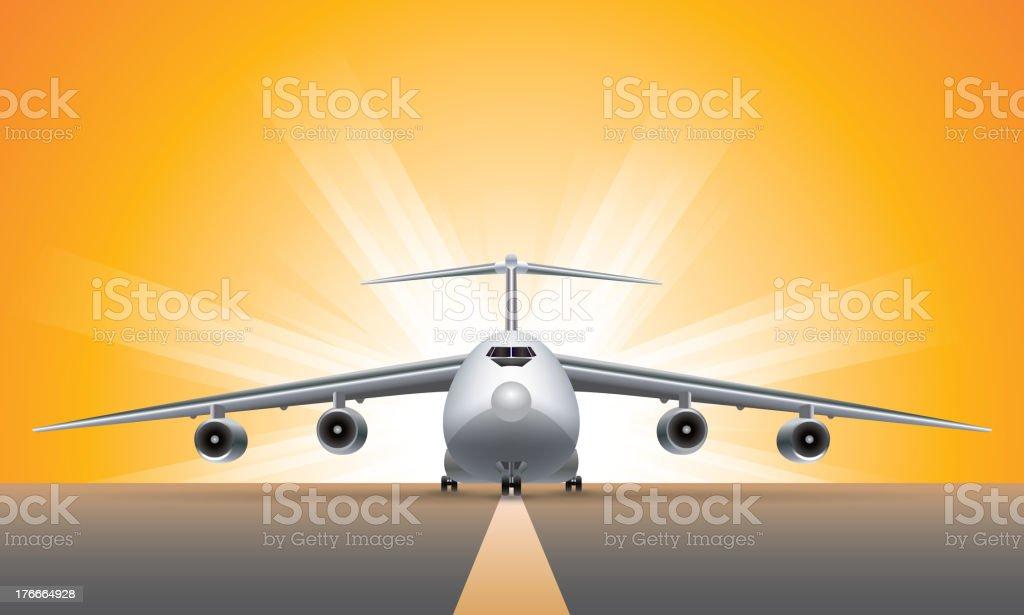 Avión ilustración de avión y más banco de imágenes de aeropuerto libre de derechos
