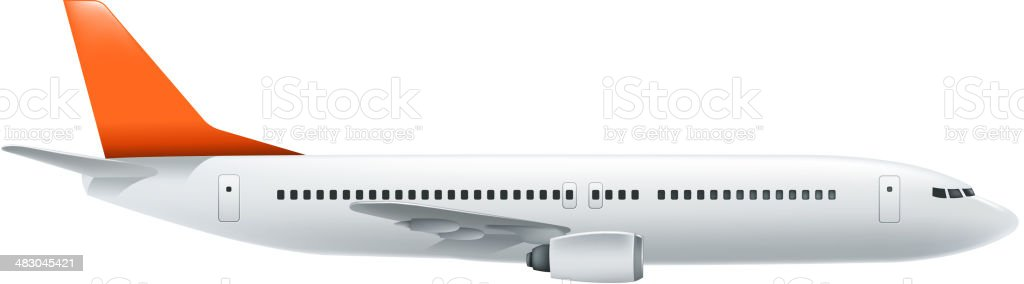 airplane royalty-free airplane stock vector art & more images of aircraft wing