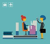 Business Travel. Concept business vector illustration.