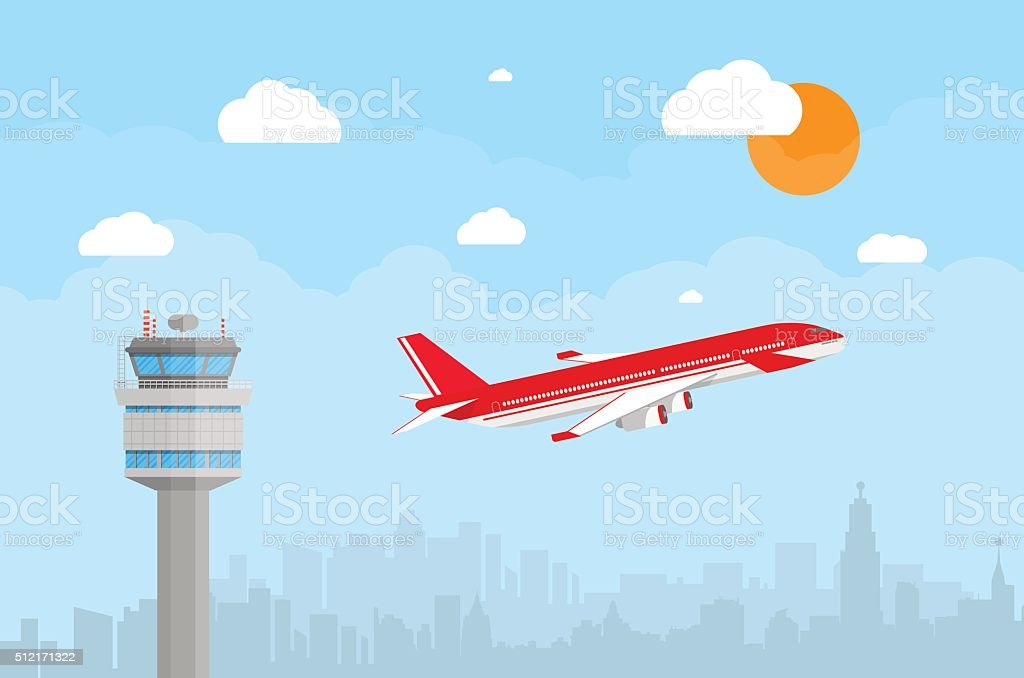 flying airplane cartoon images