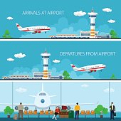 Airport Horizontal Banners