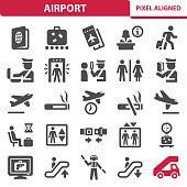 istock Airport Icons 1030871818