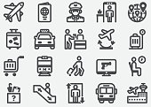 Airport Information Icons