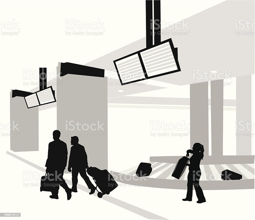 AirportLuggage - Illustration vectorielle