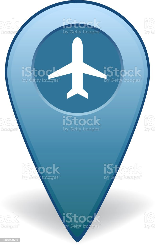 Airport map pointer for GPS navigation royalty-free airport map pointer for gps navigation stock vector art & more images of advice