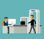Business Travel. Concept business vector illustration.