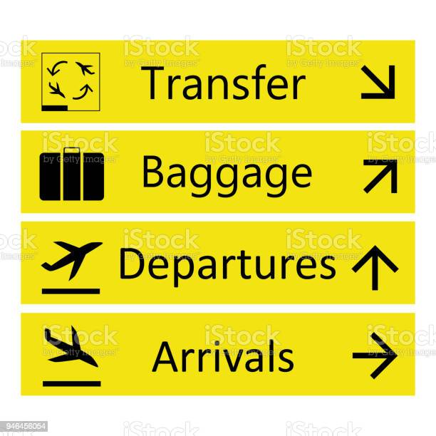 Airport Sign Free Vector Art 104 852 Free Downloads