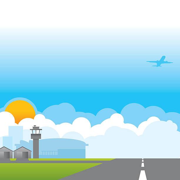 Flughafen – Vektorgrafik