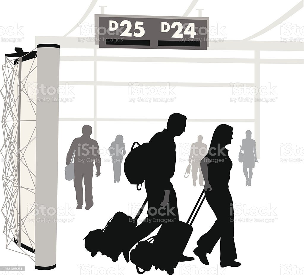 Airport'n Travel royalty-free airportn travel stock vector art & more images of adult