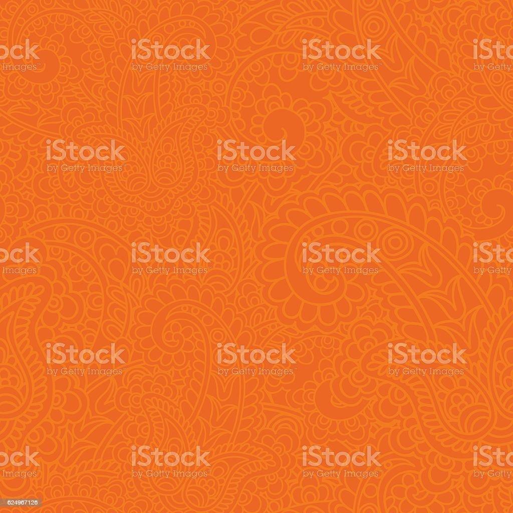Рaisley background. vector art illustration