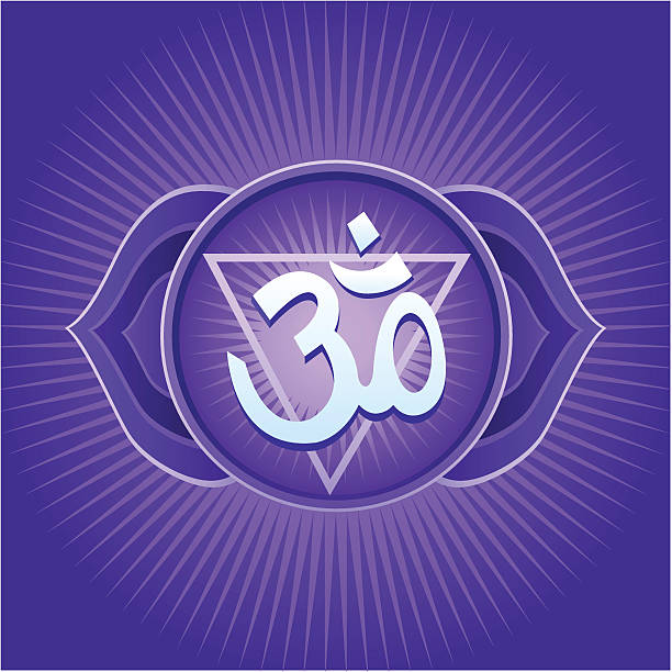 Royalty Free Clip Art Of Ajna Chakra Symbol Clip Art Vector Images