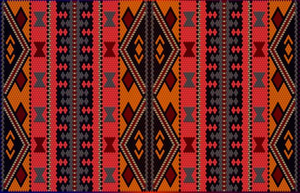 al sadu weaving2. - oman stock illustrations