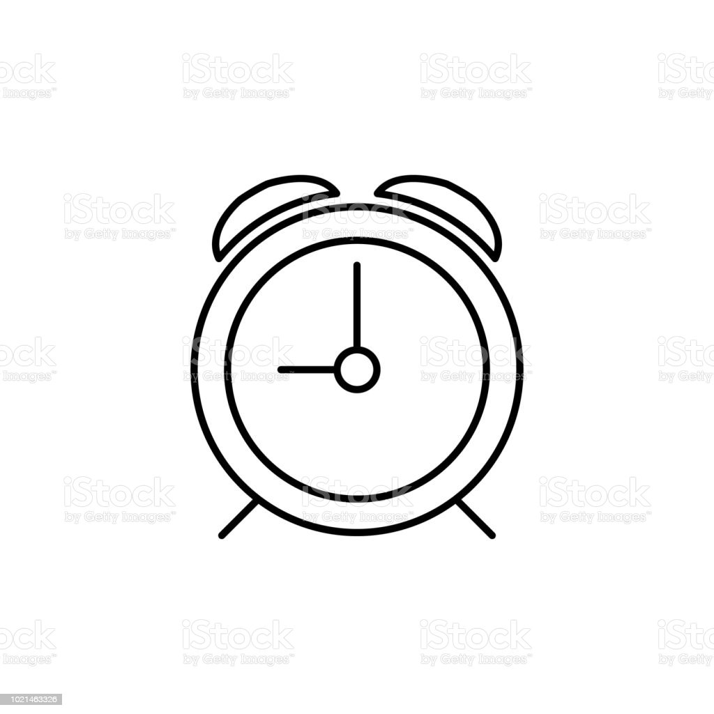 Alarm Clock Icon Element Of Simple Icon For Websites Web Design