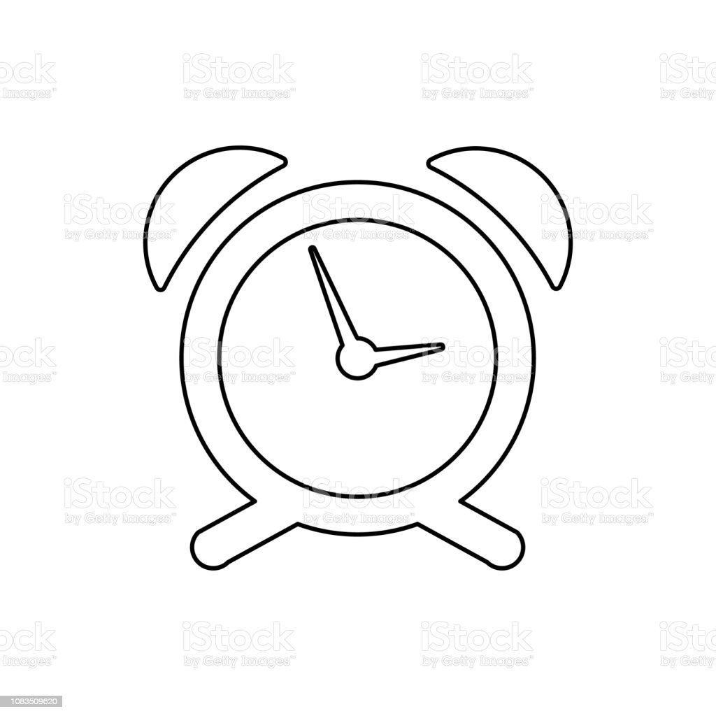 Alarm Clock Icon Element Of Web For Mobile Concept And Web