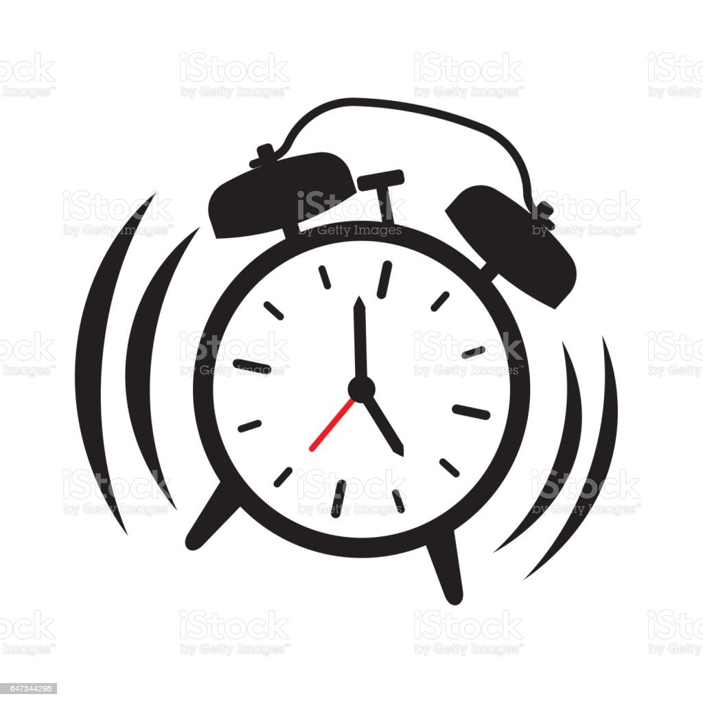 alarm clock ringing vector illustration stock vector art more rh istockphoto com alarm clock ringing clipart Cartoon Clock Clip Art