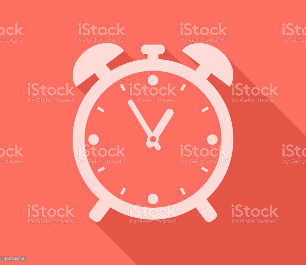 Wecker Timer Anzeige Zeit - Lizenzfrei Ausrüstung und Geräte Vektorgrafik