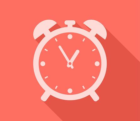 Alarm Clock Timer Showing Time Stock Illustration - Download Image Now