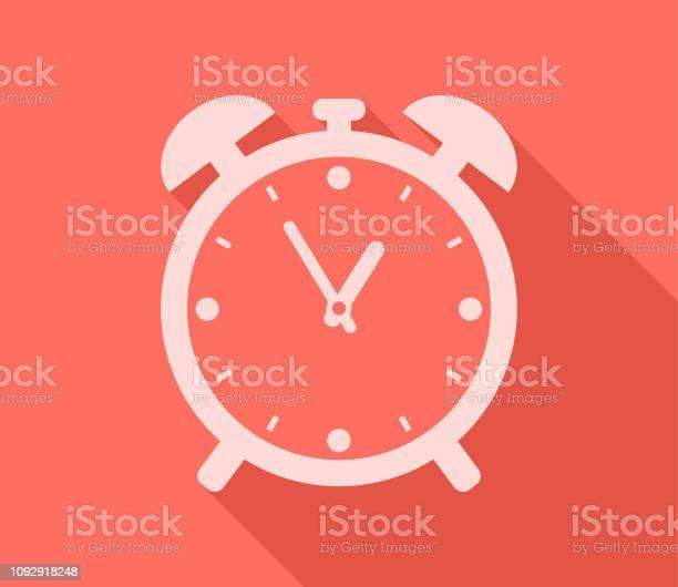 Wecker Timer Anzeige Zeit Stock Vektor Art und mehr Bilder von Ausrüstung und Geräte