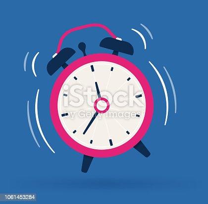 Act fast alarm clock.