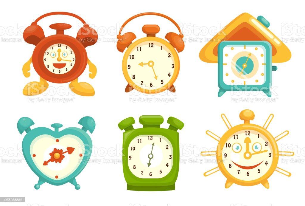 Reloj despertador - arte vectorial de Alarma libre de derechos