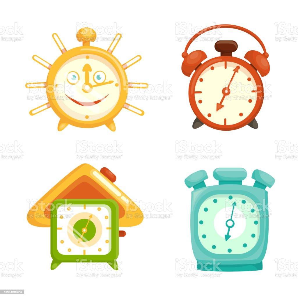 budzik - Grafika wektorowa royalty-free (Alarm)