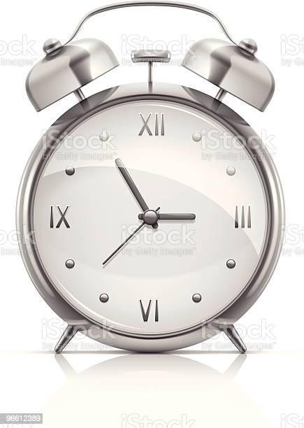 Alarm Clock-vektorgrafik och fler bilder på Cirkel