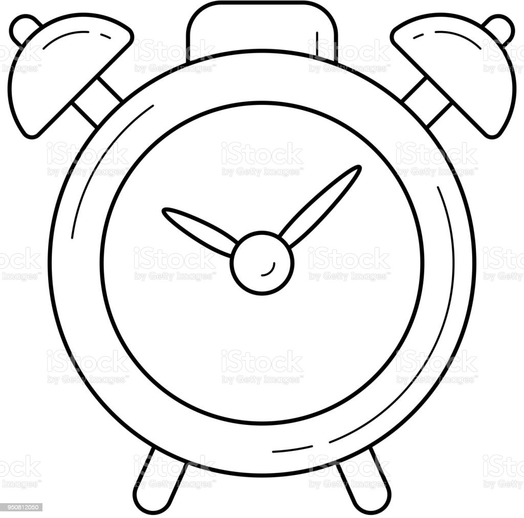 alarm clock vector line icon stock vector art more images of alarm Alarm Clock You Can Record alarm clock vector line icon royalty free alarm clock vector line icon stock vector art
