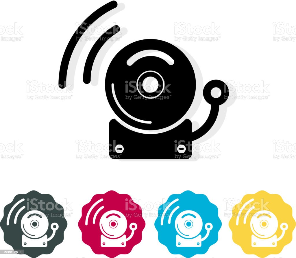 Alarm Icon vector art illustration
