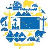 Alaska Icon Set
