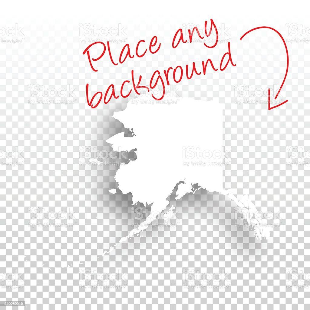 Blank Alaska Map.Alaska Map For Design Blank Background Stock Vector Art More
