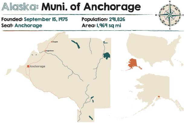 Top 60 Anchorage Alaska Clip Art, Vector Graphics And Illustrations