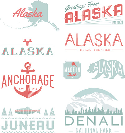 Alaska Typography