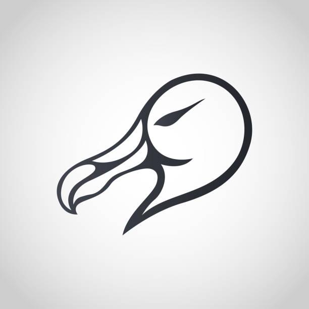 Albatross symbol icon design, vector illustration vector art illustration