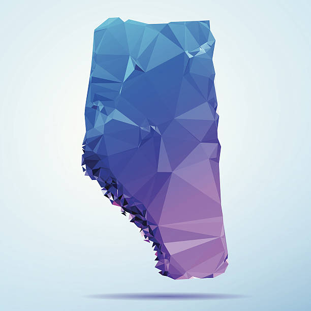 Alberta Polygon Triangle Map Blue Abstract Polygon Triangle vector map of Alberta, Canada. File was created in DMesh Pro and Adobe Illustrator on May 21, 2014. The colors in the .eps-file are in RGB. Transparencies used. Included files are EPS (v10) and Hi-Res JPG (5035 x 5035 px). map crystal stock illustrations