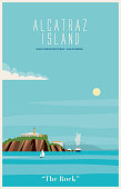 istock Alcatraz Island in the bay of San Francisco 1201573025
