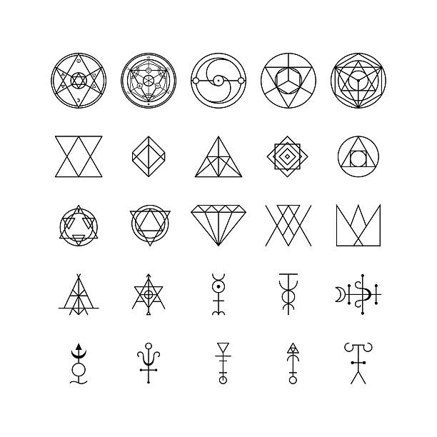Royalty Free Magic Symbols Clip Art Vector Images Illustrations
