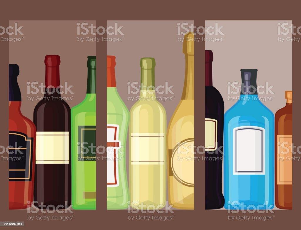 Alkohol Getränke Getränke Cocktail Karten Flasche Lager Container ...
