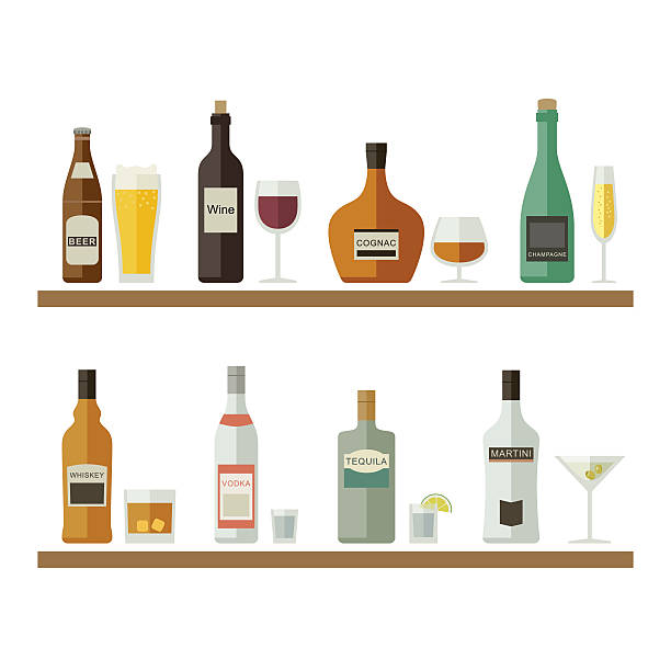 Royalty Free Alcohol Clip Art, Vector Images