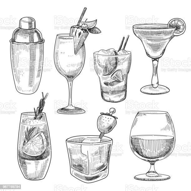 Alcoholic cocktails sketch vector id987769294?b=1&k=6&m=987769294&s=612x612&h=40hxxum2n24gyni4qmsnvc8w61dum1n01micrgcck2g=