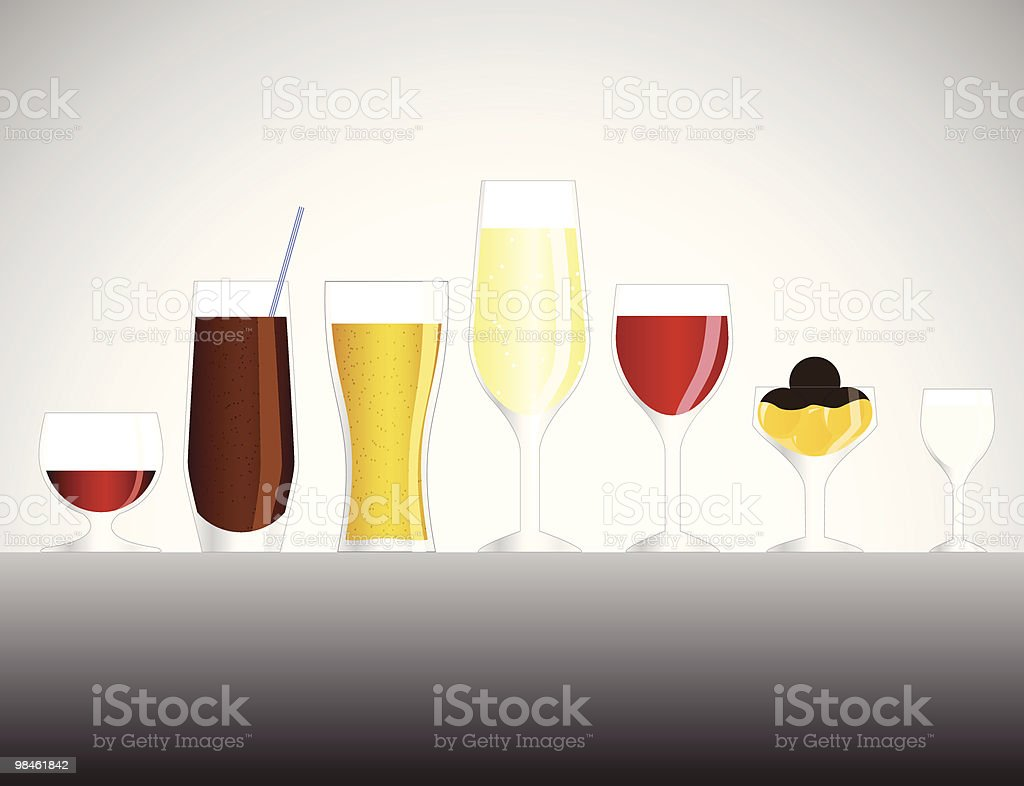Alcoholic cocktails royalty-free alcoholic cocktails stock vector art & more images of alcohol