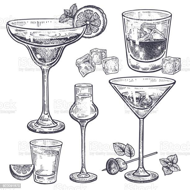 Alcoholic drinks set vector id922091870?b=1&k=6&m=922091870&s=612x612&h=mfvyucnsjs6ik6ksoyjff4b 7gmniu kpsnhg sow4i=