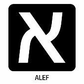 istock Alef hebrew letter icon 1273939190