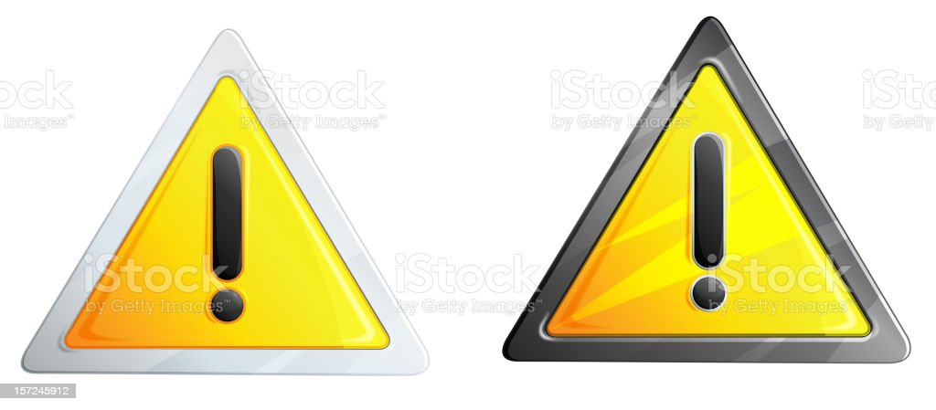 Alert Symbol royalty-free stock vector art