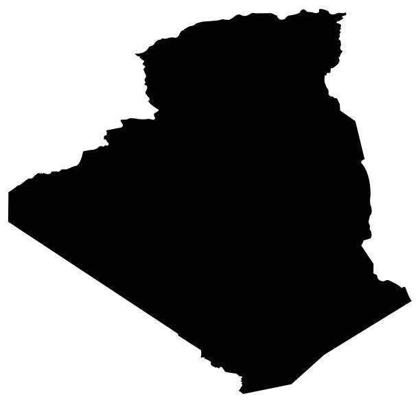 阿爾及利亞地圖 - 阿爾及利亞 幅插畫檔、美工圖案、卡通及圖標