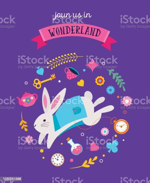 Alice in wonderland banner poster and card we are mad here vector id1030251568?b=1&k=6&m=1030251568&s=612x612&h=wzui29g5kp2kehuy5shytpps 814osvb rpe6ba txm=
