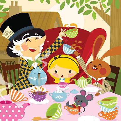 Alice in Wonderland. part 4